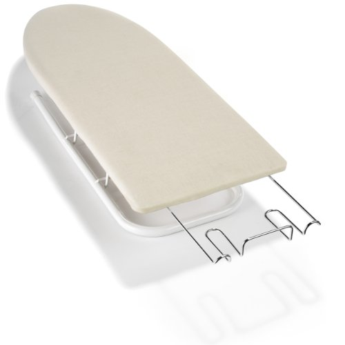 polder deluxe tabletop ironing board natural free. Black Bedroom Furniture Sets. Home Design Ideas