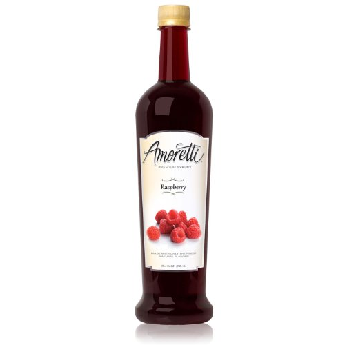 Amoretti Premium Syrup, Raspberry, 25.4 Ounce