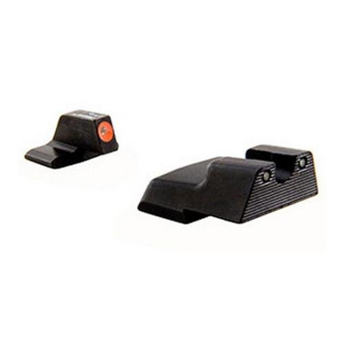 H And K Trijicon .45Mm Hd Front Outline Night Sight Set, Orange