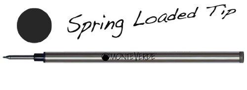 Monteverde G621BK Recharge pour stylo roller Noir Lot de 2