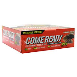 Come Ready Performance Protein Bar Caramel Pretzel Crunch -- 12 Bars (Come Ready Protein Bars compare prices)