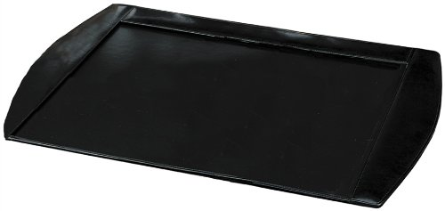 Buddy Products Roma Leather Desk Pad, 20 X 0.75 X 30 Inches, Black (9238-26)
