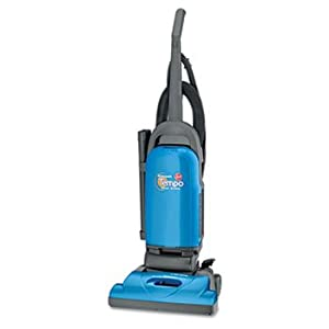 Tempo Bagged Upright Vacuum, 16 lbs, Blue by HOOVER (Catalog Category: Office Maintenance, Janitorial & Lunchroom / Vacuum Cleaners)