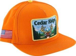 Skate Mental Cedar Ridge Orange Adjustable Hat