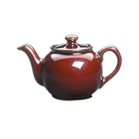 Peter Sadler Brown 55 Ounce Tea Pot
