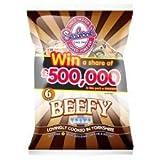 Seabrook Beefy Crisps 6 X 25G