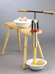 Amazon.com: Torchio Bigoli Hand Press Pasta Maker: Pasta Extruder