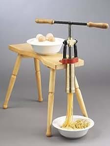Amazon.com: Torchio Bigoli Hand Press Pasta Maker: Pasta