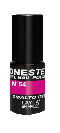 ONE STEP - Gel Nail Polish. Smalto Gel - Tonalità: Kiss my Magenta