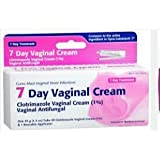 [2 Pack] 7 Day Vaginal Cream With Applicator *Compare to the same active ingredients in Gyne-Lotrimin & Save!*