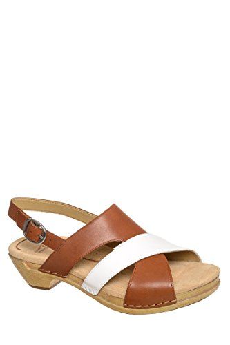 Lindy Full Grain Low Heel Sandal