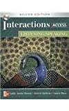 img - for By Emily Thrush Interactions Access - Listening /Speaking SB + eCourse Code: Silver Edition (1st Frist Edition) [Paperback] book / textbook / text book