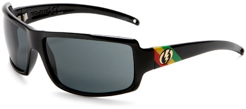 Electric Visual Ec/Dc Xl Premium Finish Sunglasses,Tweed Frame/Grey Lens,One Size