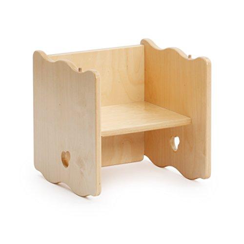 Erzi-Multifunktionsstuhl-Holzstuhl-Kinderstuhl-Kinder-Thron-Sitzmbel