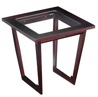 Cheap End Table – Madison Dark Wenge Finish (TH8802)