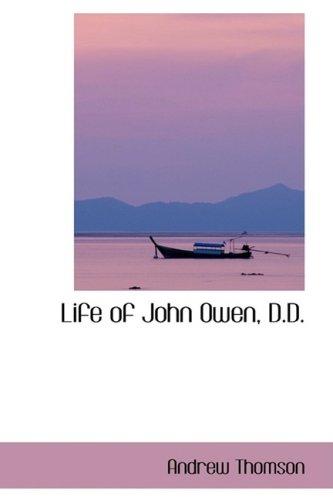 Life of John Owen, D.D.