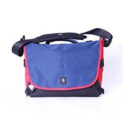 Crumpler 7 Million Dollar Home Shoulder Bag For Dslr Camera, Navy/Rust Red