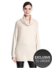 Autograph Pure Cashmere Oversized Ribbed Jumper