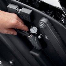 Harley-Davidson? Auxiliary Power Port - Saddlebag Mount - 69200091
