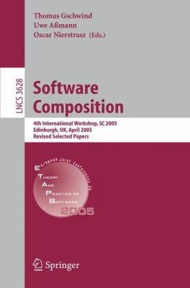 Software Composition, 4 conf., SC 2005