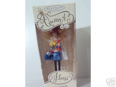 Hallmark Keepsake Ornament Queen of Fitness 2004