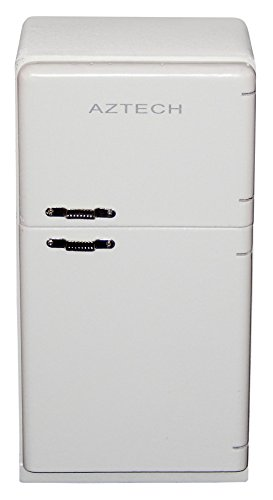 Dollhouse Miniature 1950's Refrigerator/white T5016 (1950 Refrigerator compare prices)
