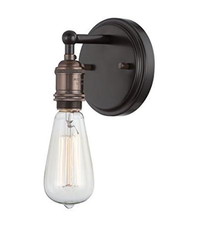Nuvo Lighting Vintage 1-Light Vanity & Wall Sconce, Rustic Bronze