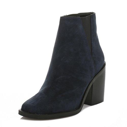 Shellys Donna Marina Lovenia Scamosciato Ankle Stivali-UK 6