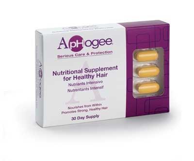 ApHogee supplément de vitamine pour les cheveux