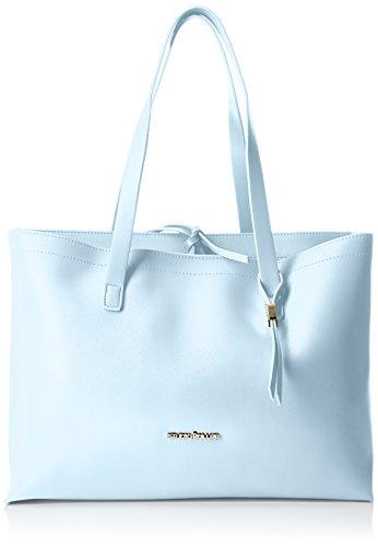 Pollini Studio Shopping Orizzontale a Due Scomparti, Bianco, 40 cm