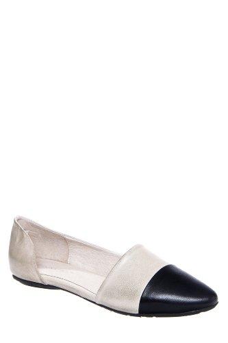 Chocolat Blu Ghita Pointed Toe D'Orsay Flat Shoe
