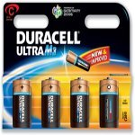 Duracell Ultra MN1400 Battery Alkaline 1.5V C [Pack 4] (7035077)