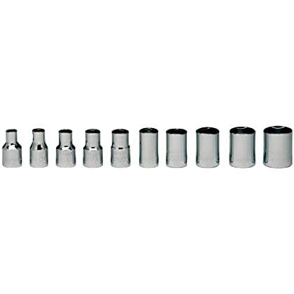 Wright Tool #200 10-Piece 6-Point Standard Socket Set