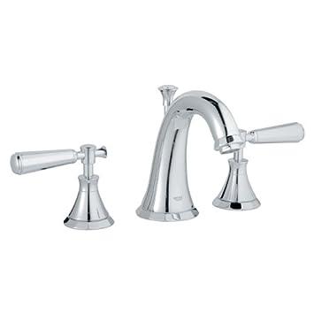 Grohe K20124-18087-000 Kensington Lavatory Lever Faucet Kit, Chrome