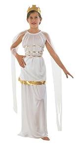 Athena Greek Goddess Childs Fancy Dress Costume - S 122cms