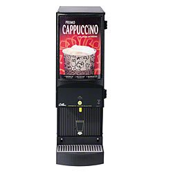 "Wilbur Curtis CAFEPC1CS10000 Cafe Primo Cappuccino Systems, 1-Station, 7-lb Hopper, 31.1"" Height x 9.9"" Width"