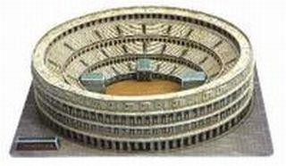 3D Roman Colosseum Italy Puzzle Model (Colosseum Model compare prices)