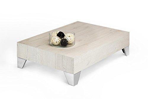 Tisch-Couchtisch-Beistelltisch-Kaffeetisch-Wohnzimmertisch-Creme-Eiche-mod-evolution-90