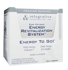 ITI Integrative Therapeutics - End Fatigue Energy to Go! Travel Pack Berry Flavor (14 Packets) (END16)