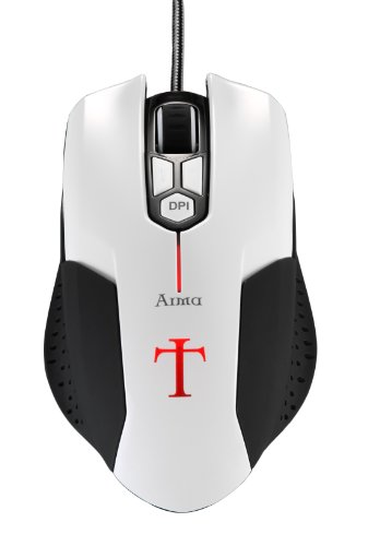 251310c53b5 Best Deal Aerocool Templarius Arma USB 2600DPI 6 Button Gaming Mouse ...