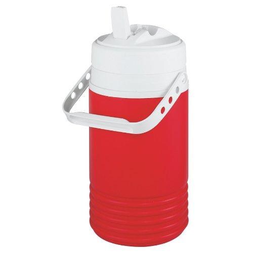 Igloo Legend Beverage Cooler (Red, 0.5-Gallon) front-210168