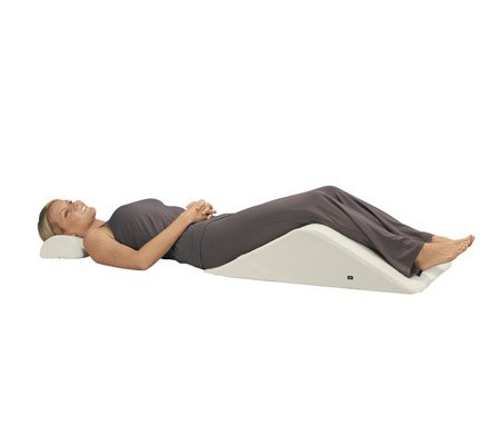 Contour Backmax W/Massage - Full Body Pillow, Foam Wedge Pillow Massage, Memo...