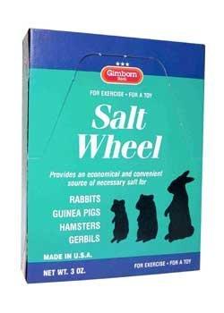 Gimborn Products Srd7555 24-Pack Small Animal Salt Wheel Counter Box