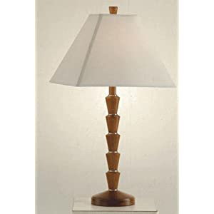 Palm Tree Table Lamps on Com  Dark Oak Finish Palm Tree Trunk Table Lamp  Home Improvement