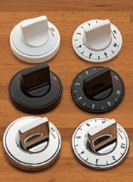 RANGE KLEEN 8114 Electric Range Knobs (4-pk, Black)