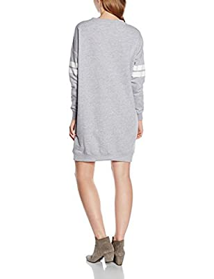 New Look Women's Varsity Double Stripe Long Sleeve Dress