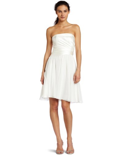 Suzi Chin Women's Strapless Dress,Diamond,14