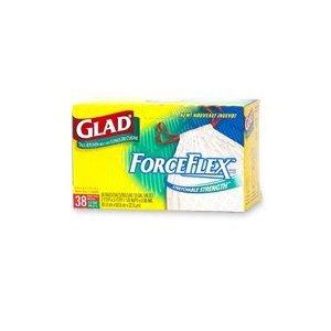 Glad Kitchen Trash Bag Force Flex Tall 13 Gal 38 Box Health Personal Care