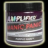 315fi zuxrL. SL160  Manic Panic Purple Haze Amplified Hair Dye Color Gothic