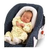 Sunshine Kids Snuggle-Soft Infant Support for Car Seat & Stroller - Ivory - 1